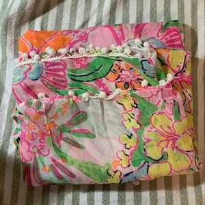 NWOT Lilly Pulitzer for Target scarf